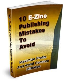 10 Ezine Publishing Mistakes