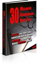 30 Max Conversion Rate Tips