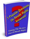 Resale Rights FAQs