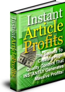 Instant Article Profits